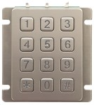 Modular stand-alone access control keypad B880-KJ with One-Time-Use codes